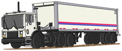 99 Truck embroidery design