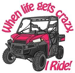 4 Wheeler Crazy Ride embroidery design