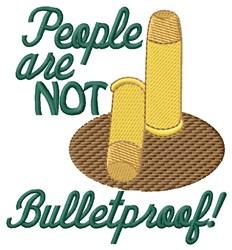 Bulletproof embroidery design