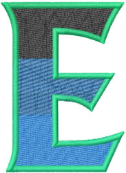 Toga Epsilon embroidery design