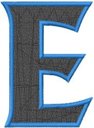 Toga Epsilon embroidery design