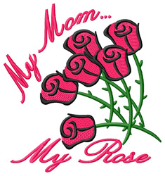 My Rose embroidery design