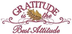 Gratitude Border embroidery design