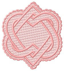 FSL Twined Hearts embroidery design