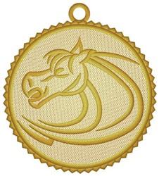 Horse Ornament embroidery design