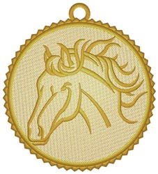 Horse Ornament embroidery design