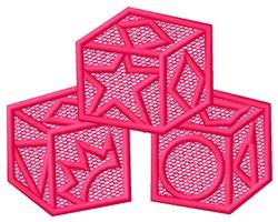 FSL Blocks embroidery design