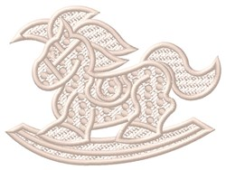 FSL  Rocking Horse embroidery design