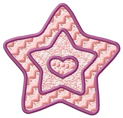 FSL Star embroidery design