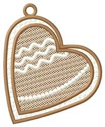 Heart Ornament embroidery design
