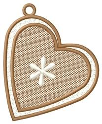 Bordered Heart Ornament embroidery design