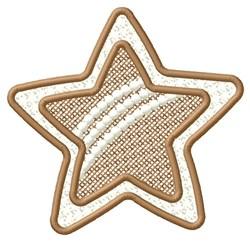 Rainbow Star embroidery design