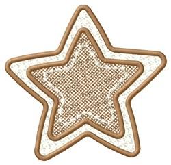 Framed Star embroidery design