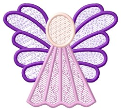 Pink Angel embroidery design