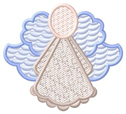 Blue Angel embroidery design