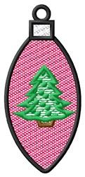 Christmas Light Ornament embroidery design