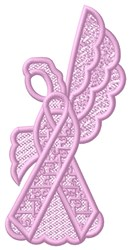 FSL Autism Angel embroidery design