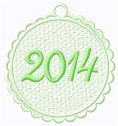 FSL 2014 Tag embroidery design