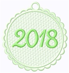 FSL 2018 Tag embroidery design