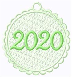 FSL 2020 Tag embroidery design