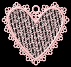 FSL Lacy Ornament embroidery design