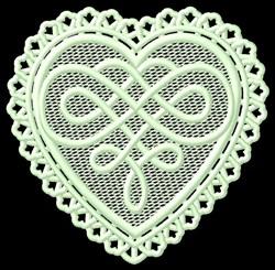 FSL Celtic Heart embroidery design