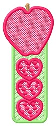 Apple Hearts embroidery design
