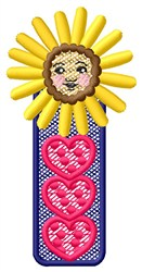 Flower Child Hearts embroidery design