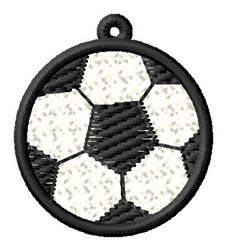 Soccer Ball Ornament embroidery design