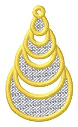 Abstract Ornament embroidery design