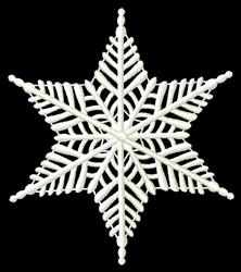 FSL Snowflake embroidery design