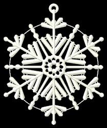 Hexagon Ornament embroidery design