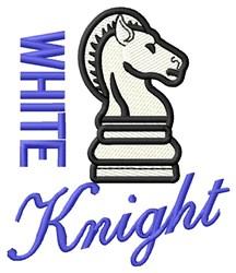 White Knight embroidery design