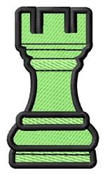 Rook Piece embroidery design