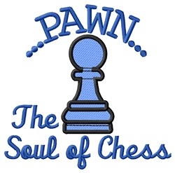 Soul of Chess embroidery design
