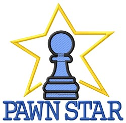 Pawn Star embroidery design