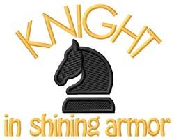 Shining Armor embroidery design