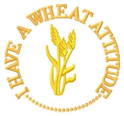 Wheat Attitude embroidery design