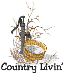 Country Livin embroidery design
