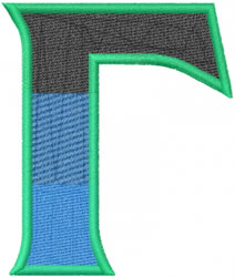Toga Gamma embroidery design