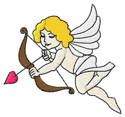 Cupid #2 embroidery design