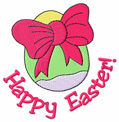 Happy Easter! embroidery design