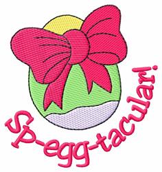 Sp-egg-tacular! embroidery design