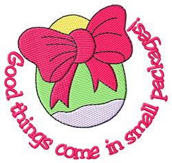 Good Things embroidery design