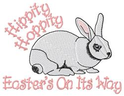 Hippity, Hoppity embroidery design
