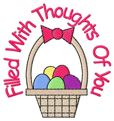 Thoughts of You embroidery design