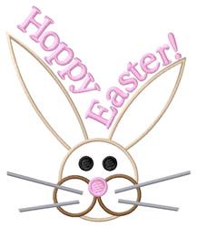 Hoppy Easter! embroidery design