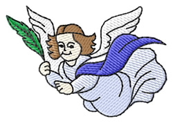 Angel of Hope embroidery design