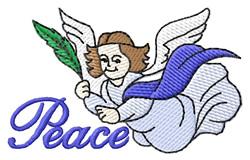 Peace embroidery design