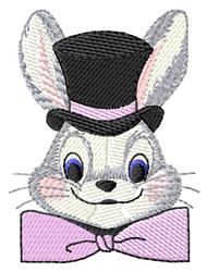 Rabbit Head embroidery design
